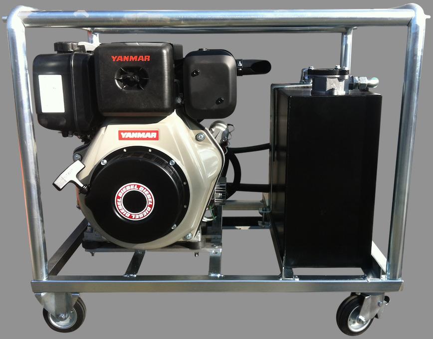 Logo Compact diesel hydraulic powerpack