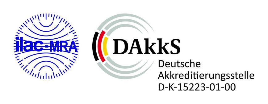 Logo DAkkS-Kalibrierlabor