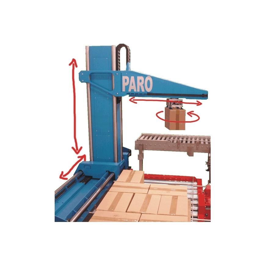 Logo Palletising robot PARO
