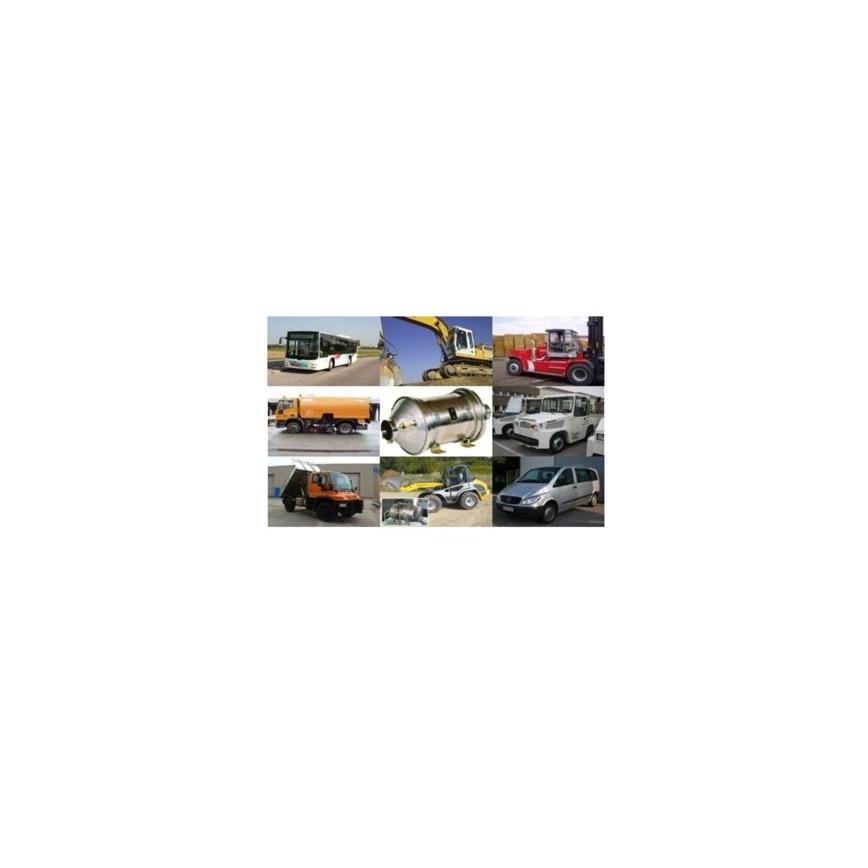 Logo Dieselpartikelfilter- Funktionsüberwachung und Daten-Aufzeichnung