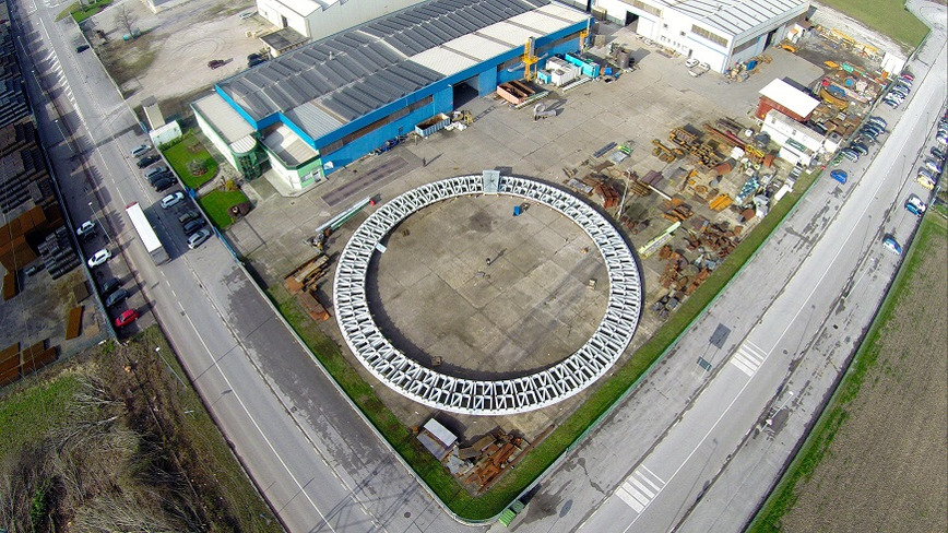 Logo ASSEMBLY AND TESTING AREA - 5500 SQM