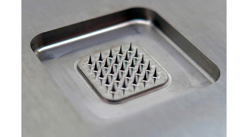 Logo micro needle