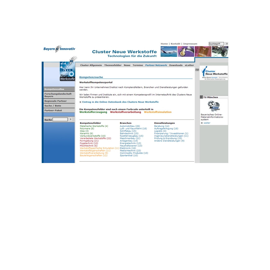 Logo Werkstoffkompetenzportal