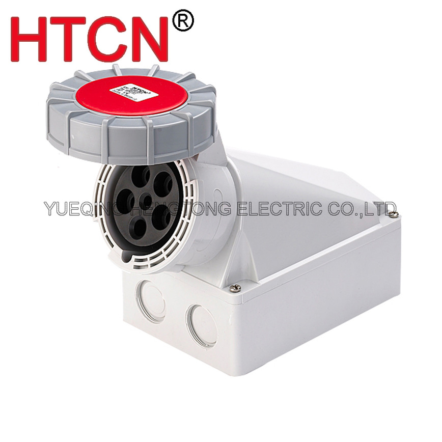 Logo industrial surface wall mounted socket