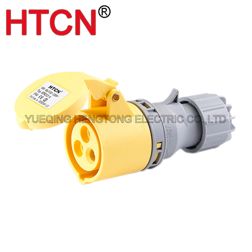 Logo industrial mobile cee connector coupler