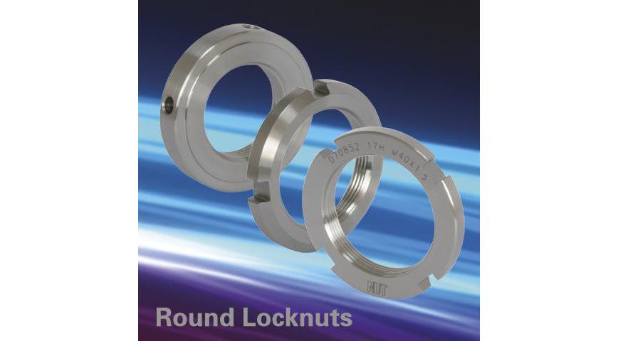 Logo Round locknut