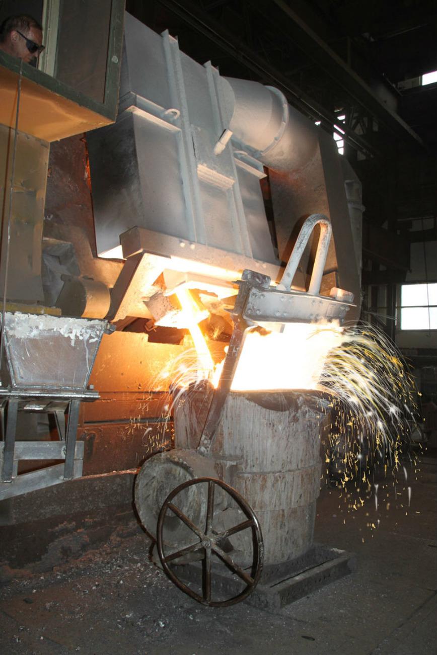 Logo Cast iron castings
