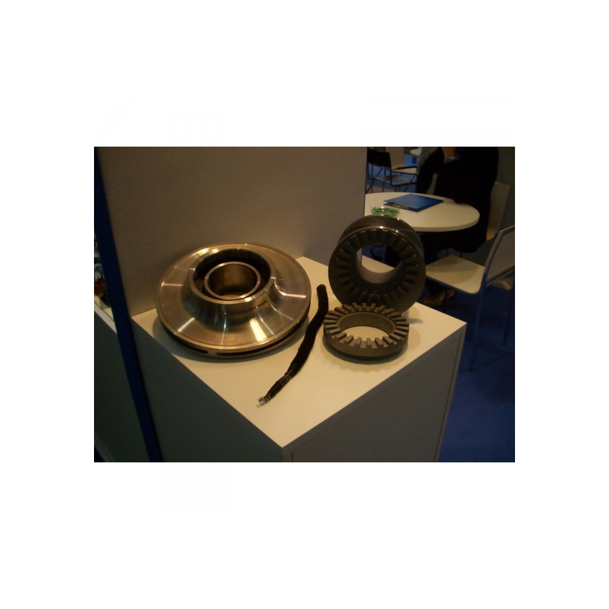 Logo Impeller and Gears