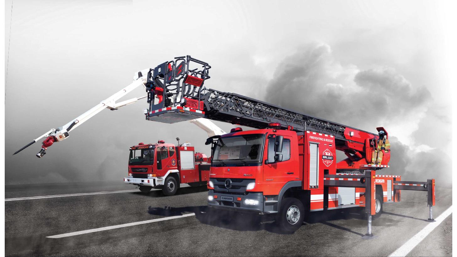 Logo Firefighting&rescue vehicle