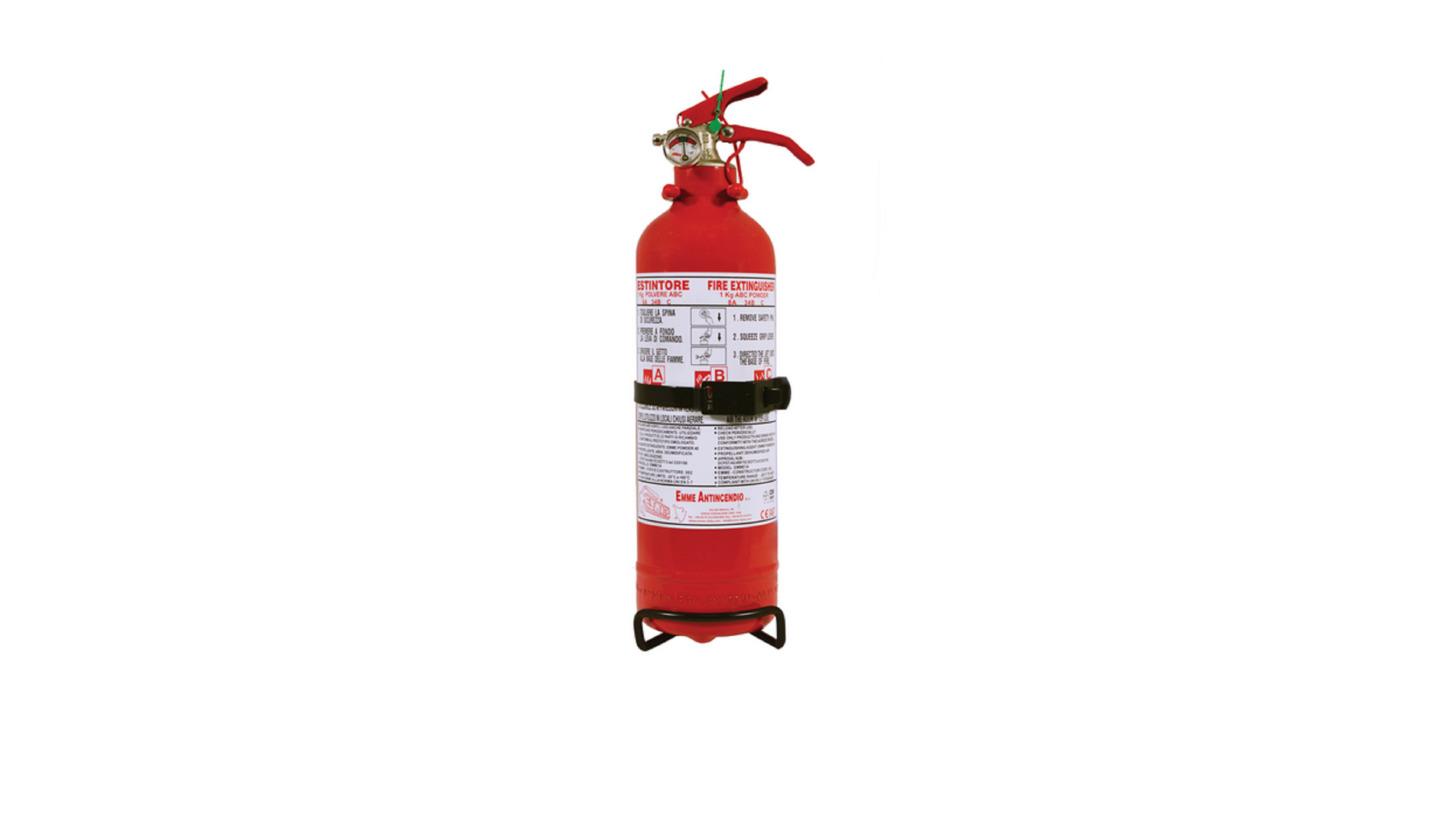 Logo Dry Powder Portable fire extinguisher