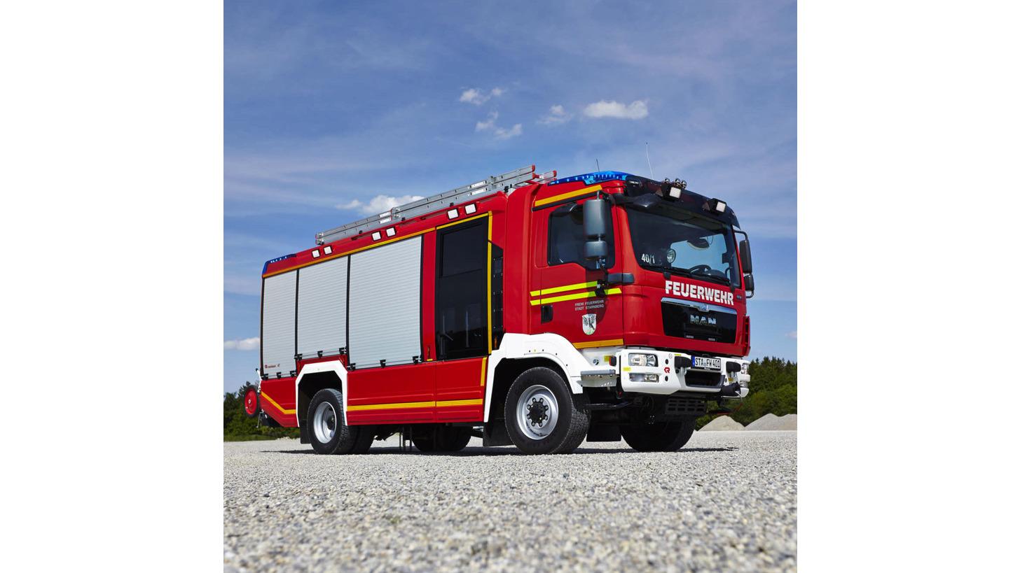 Logo Municipal fire service vehicles