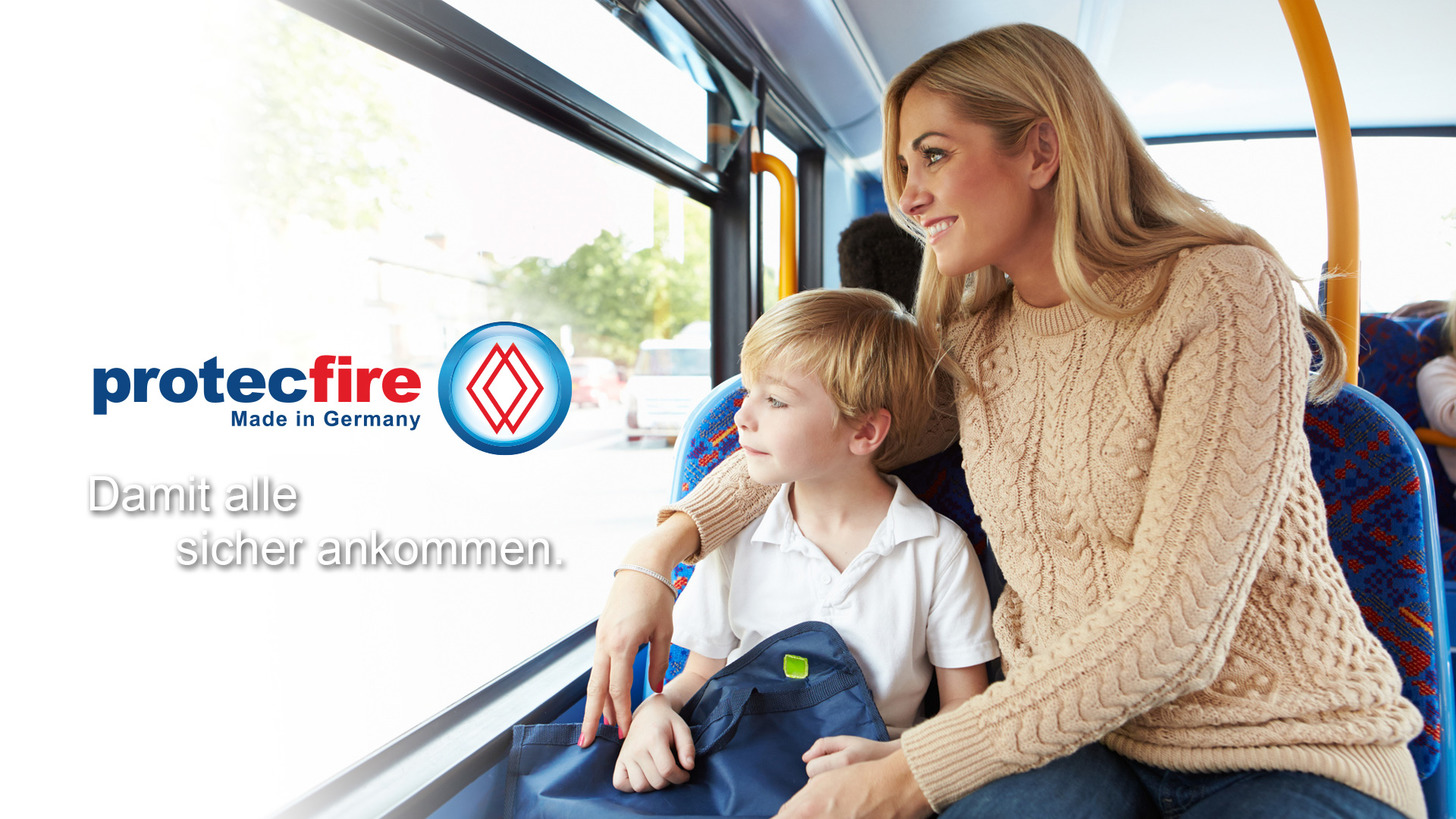 Logo Fire protection for busses