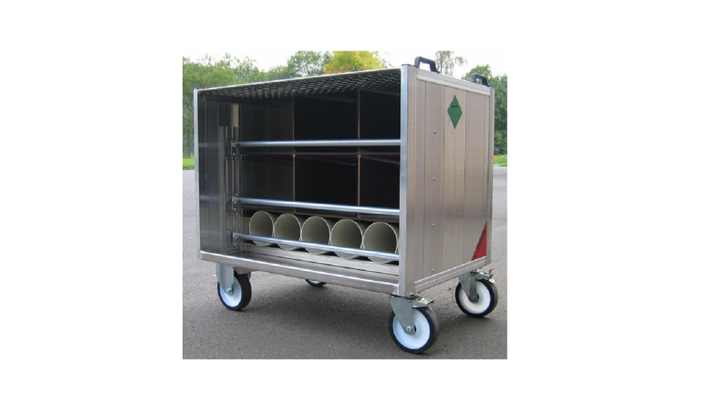 Logo THEIS Rollcontainer, TYP Ro 8.12 AT /GE