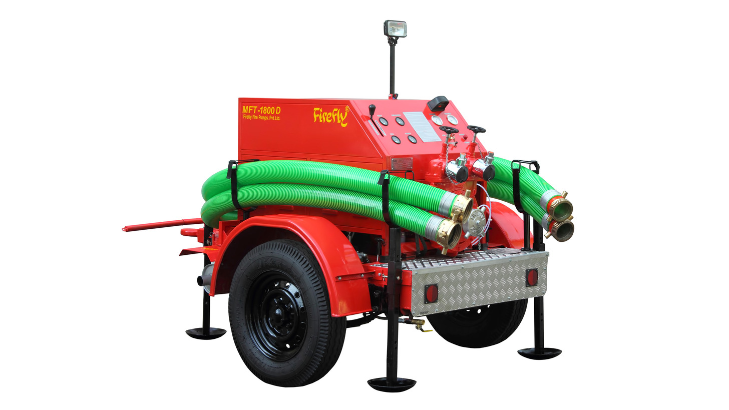 Logo Trailer Mounted Fire Pump