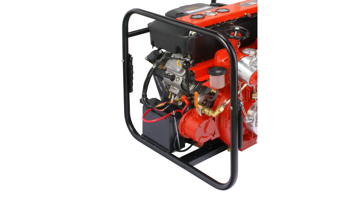 Logo Petrol Portable Fire Pump