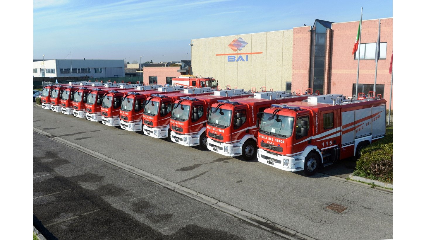 Logo BAI Municipal Fire Trucks