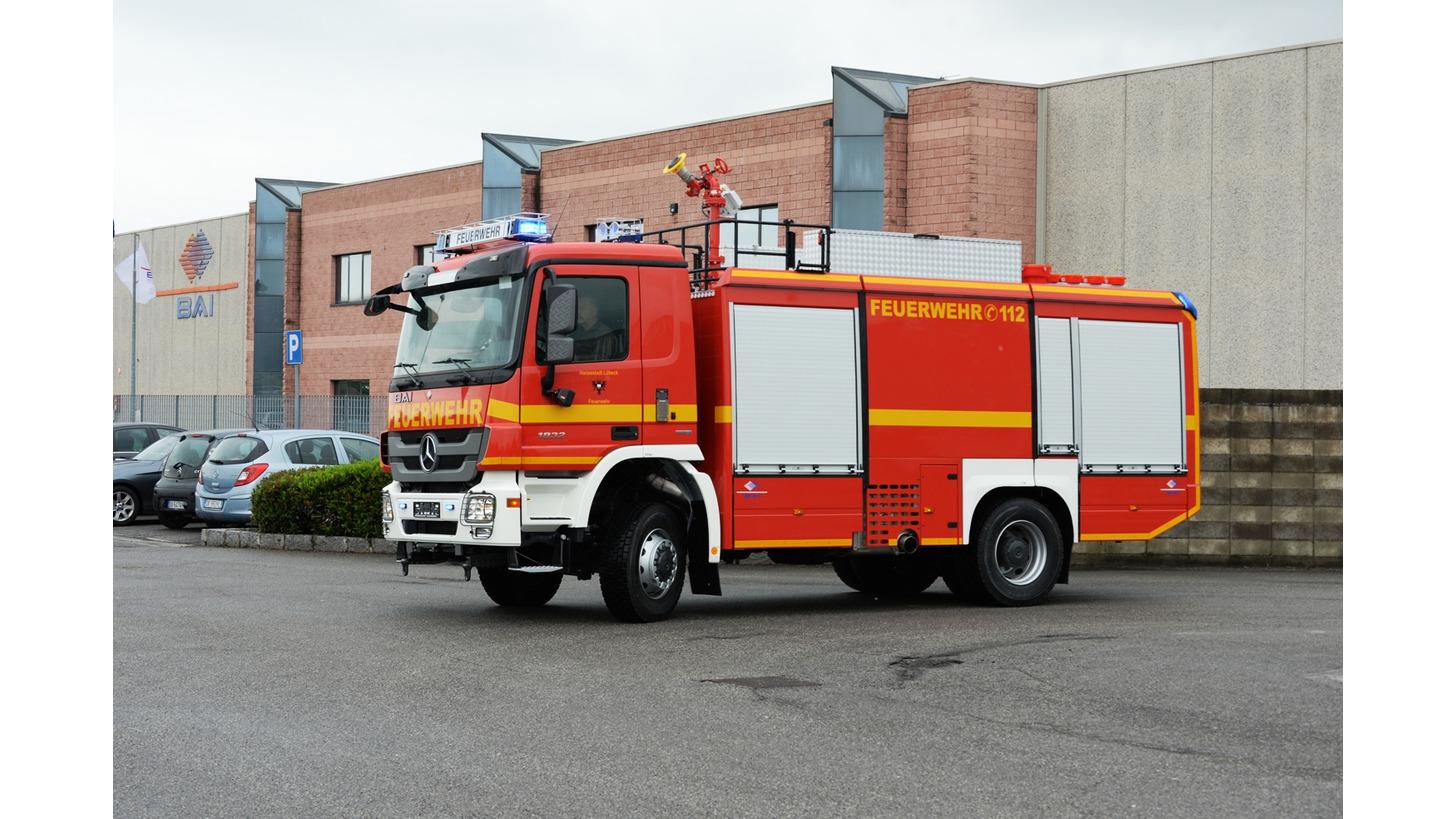 Logo BAI TLF Fire Fighting Vehicles