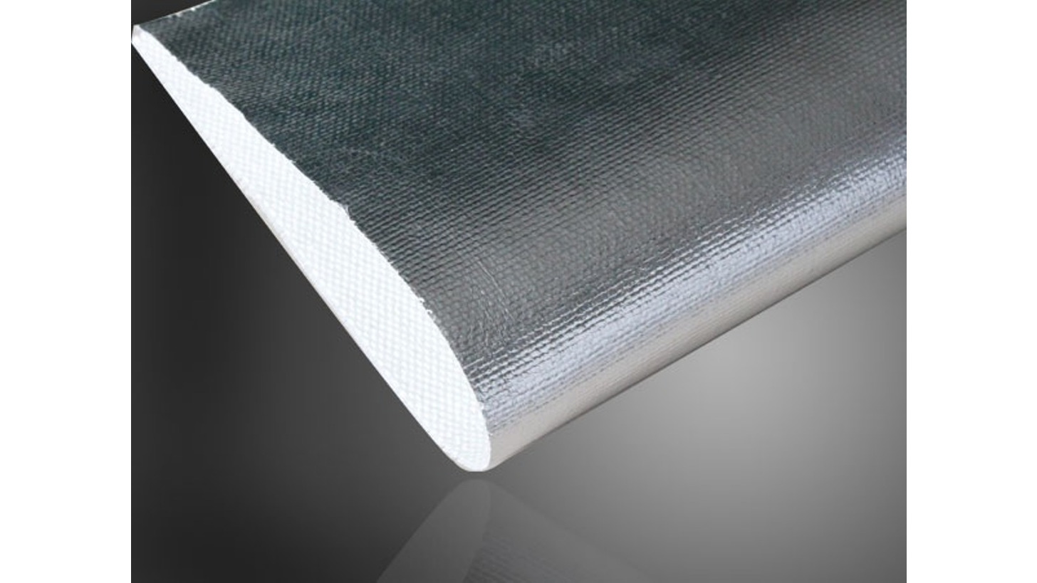 Logo Aluminum Foiled Fiberglass Fabric