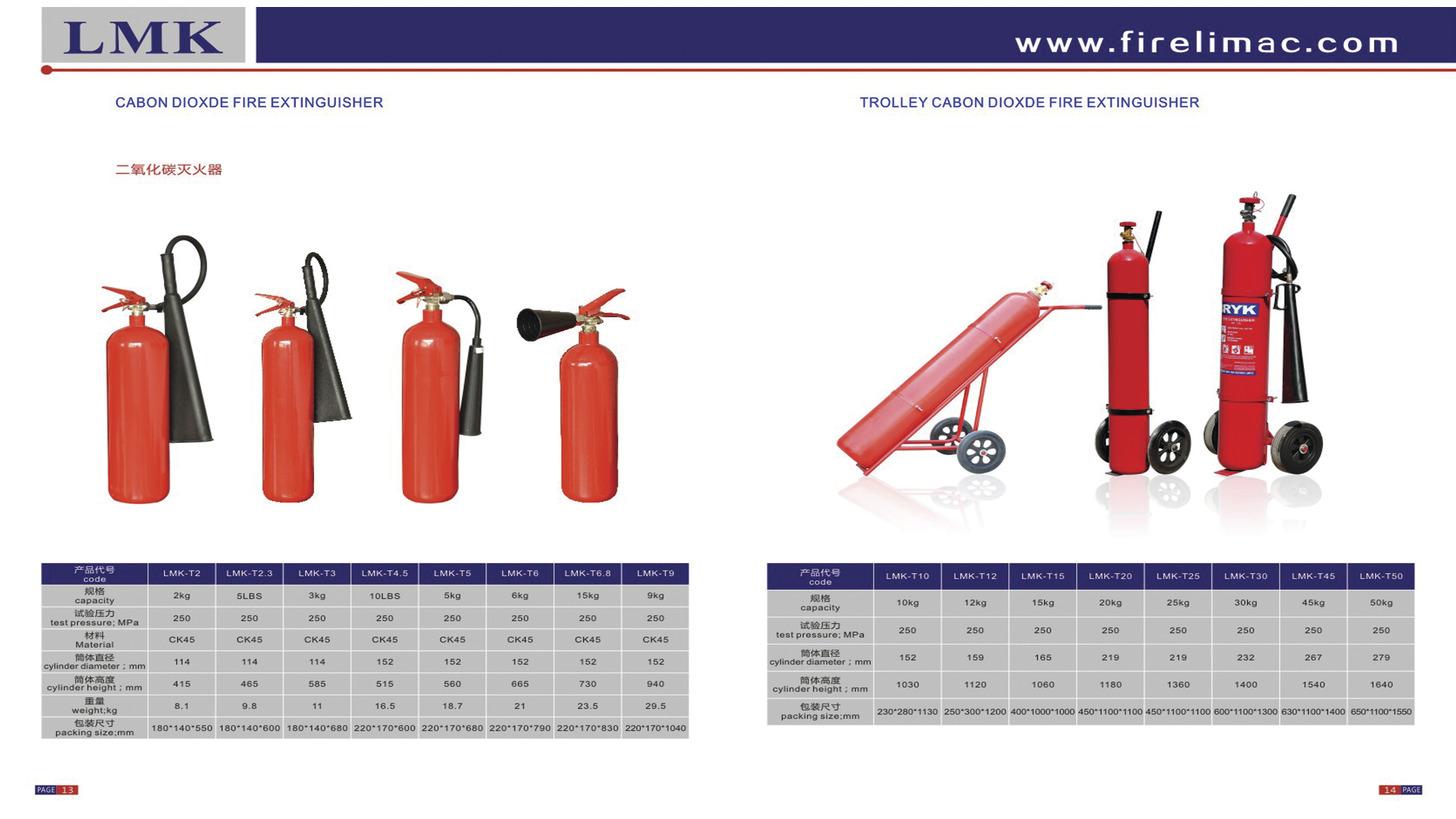Logo Cabon Dioxde Fire Extinguisher