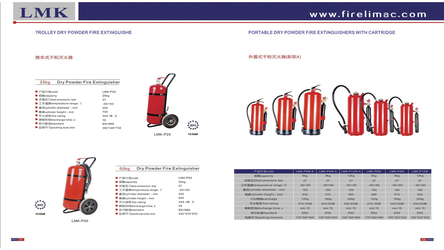 Logo Trolley Dry Powder Fire Extinguishers