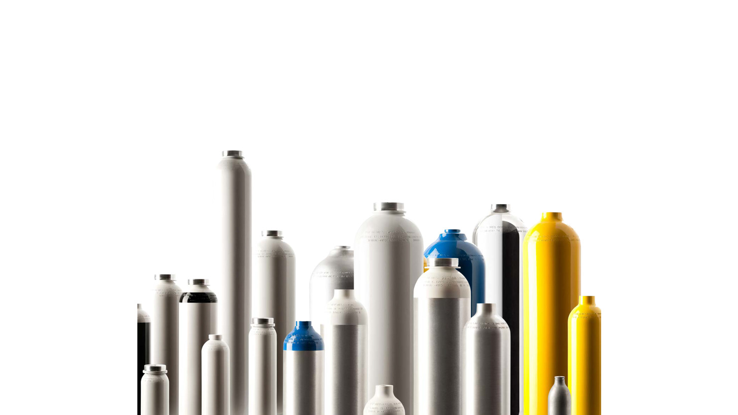 Logo High Pressure Aluminium Gas Cylinders