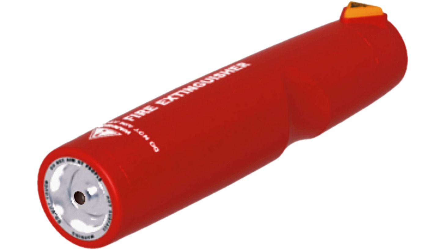 Logo Nano-Particle Portable Fire Extinguisher