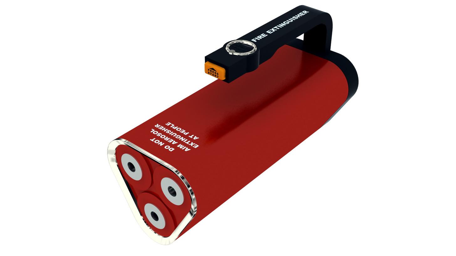 Logo Nano-Particle Portable Fire Extinguisher