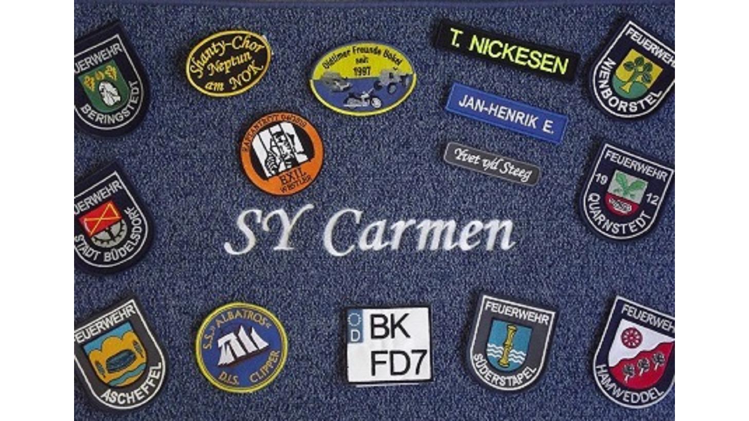 Logo Stickerei