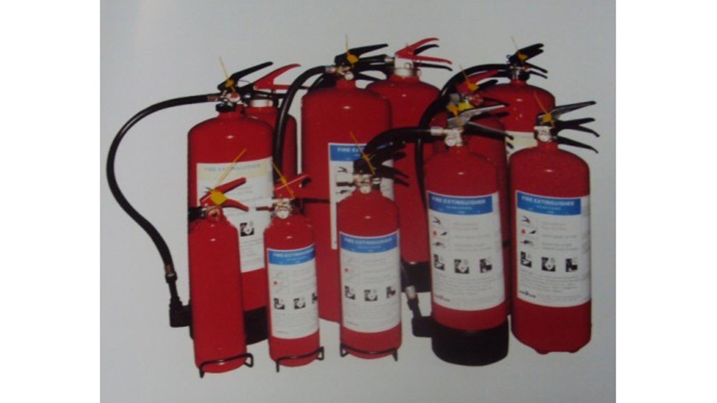 Logo Portable Powder/Foam Fire Extinguishers