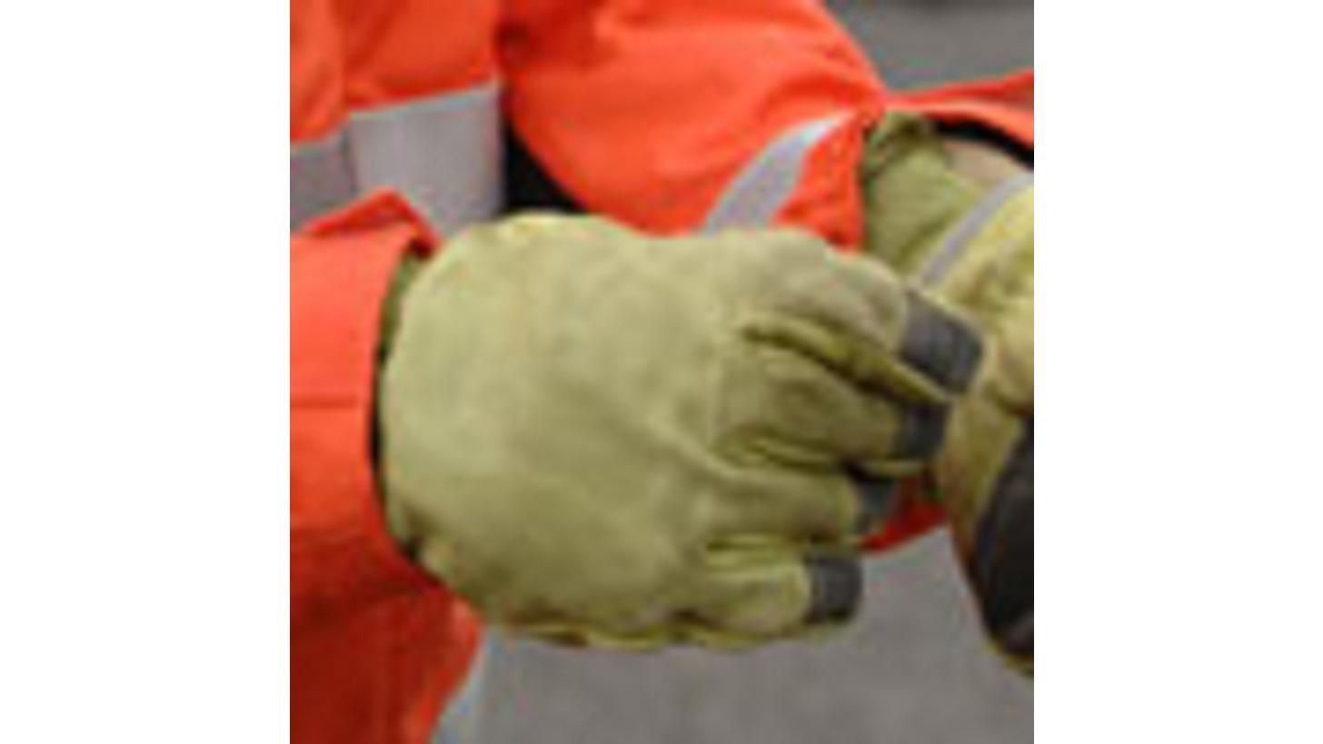 Logo Katastrophenschutz - Handschuhe