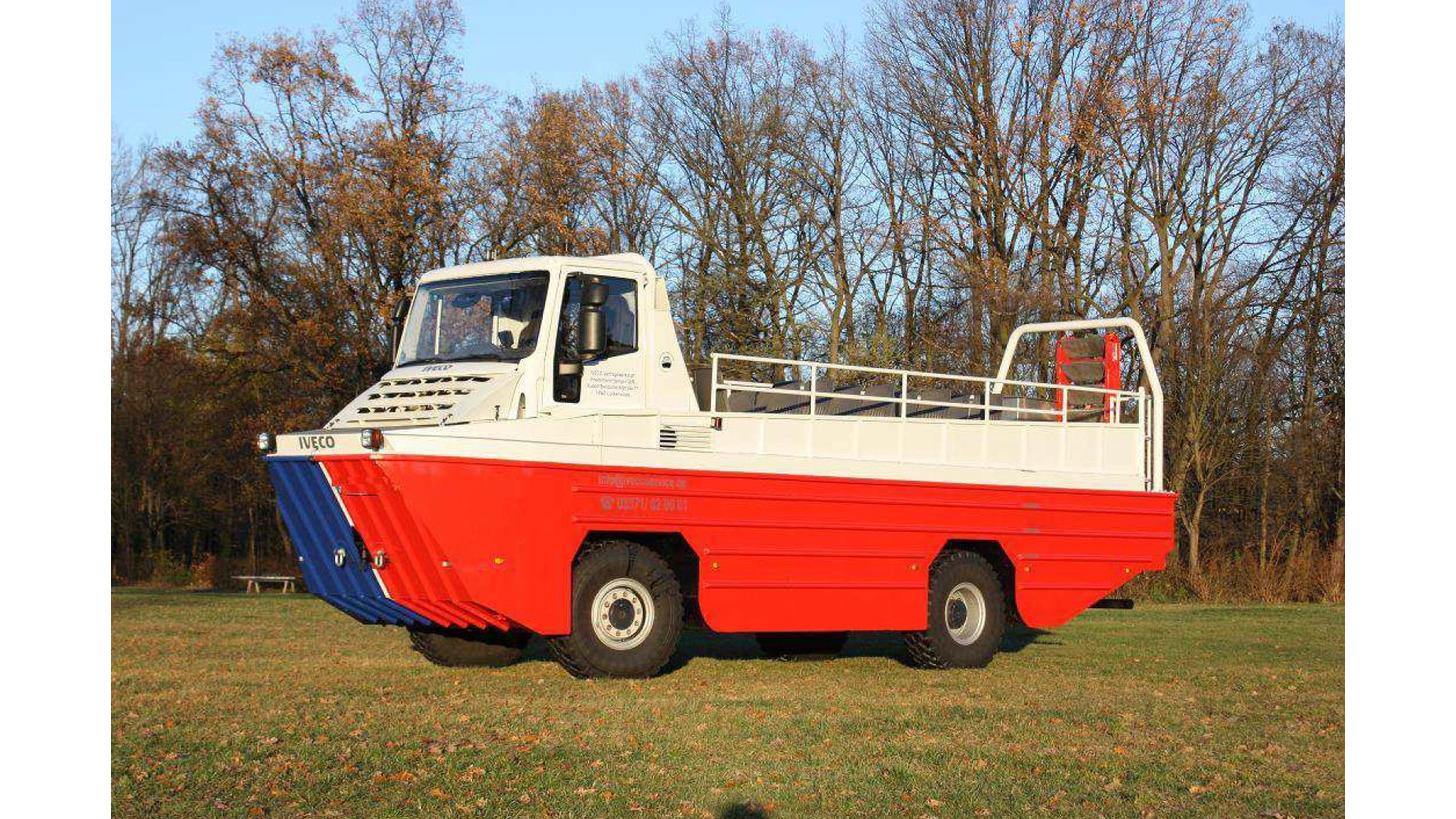 Logo BootLKW - amphibischer LKW