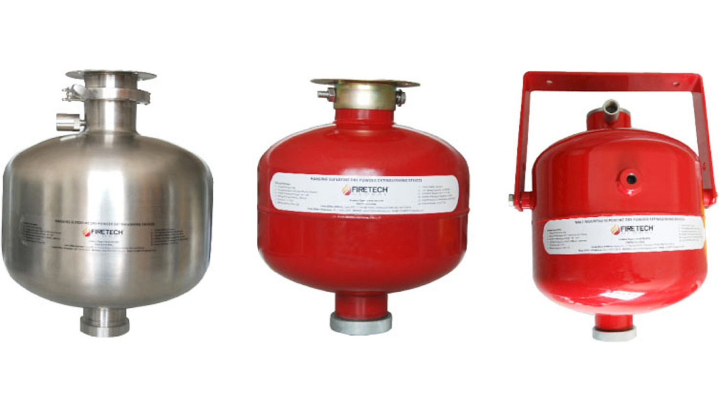 Logo Automatic Dry Chemical Fire Ext. Devices