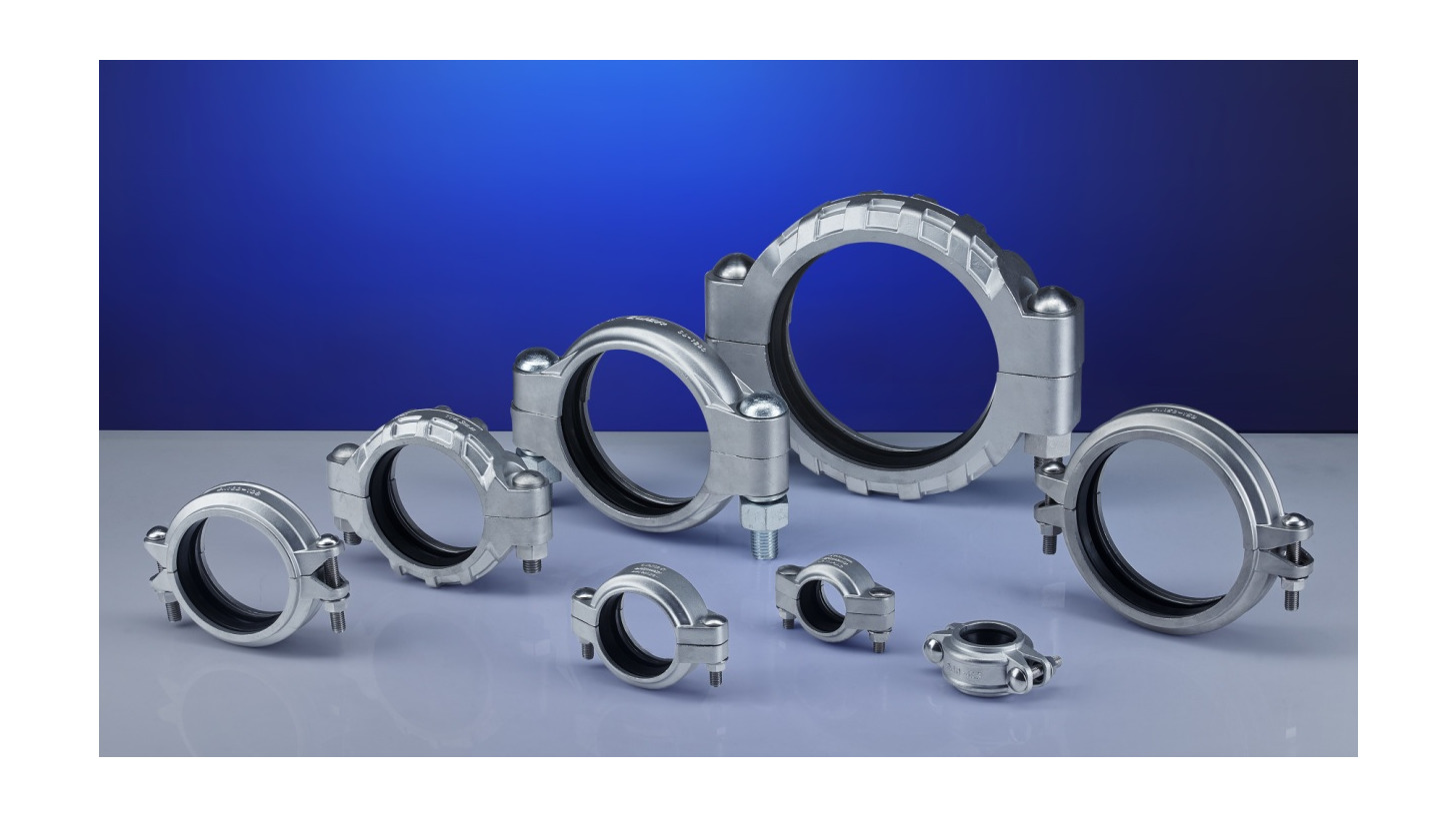 Logo Pipe Clamp Flexible Coupling
