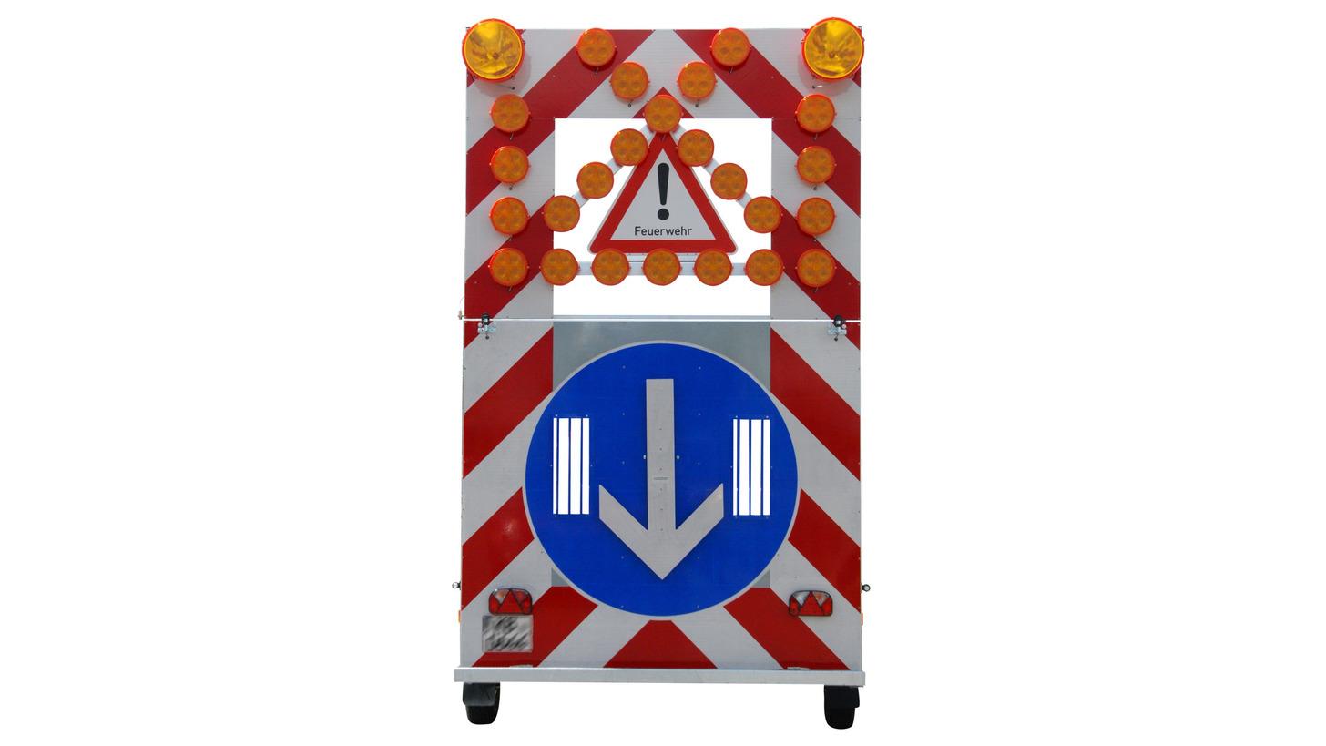 Logo Verkehrssicherungsanhänger Feuerwehr