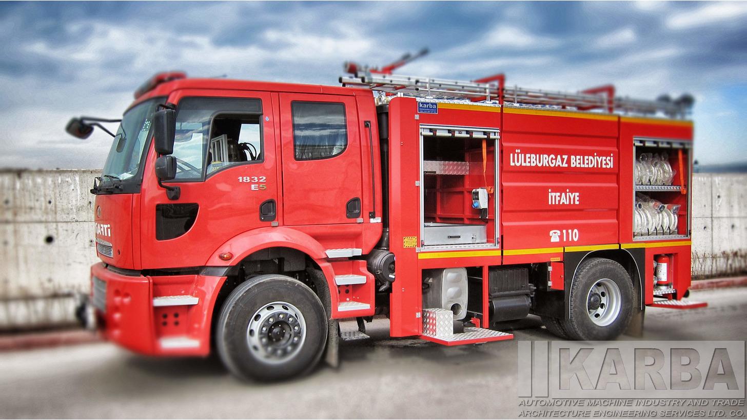 Logo KARBA Medium Class Fire Trucks