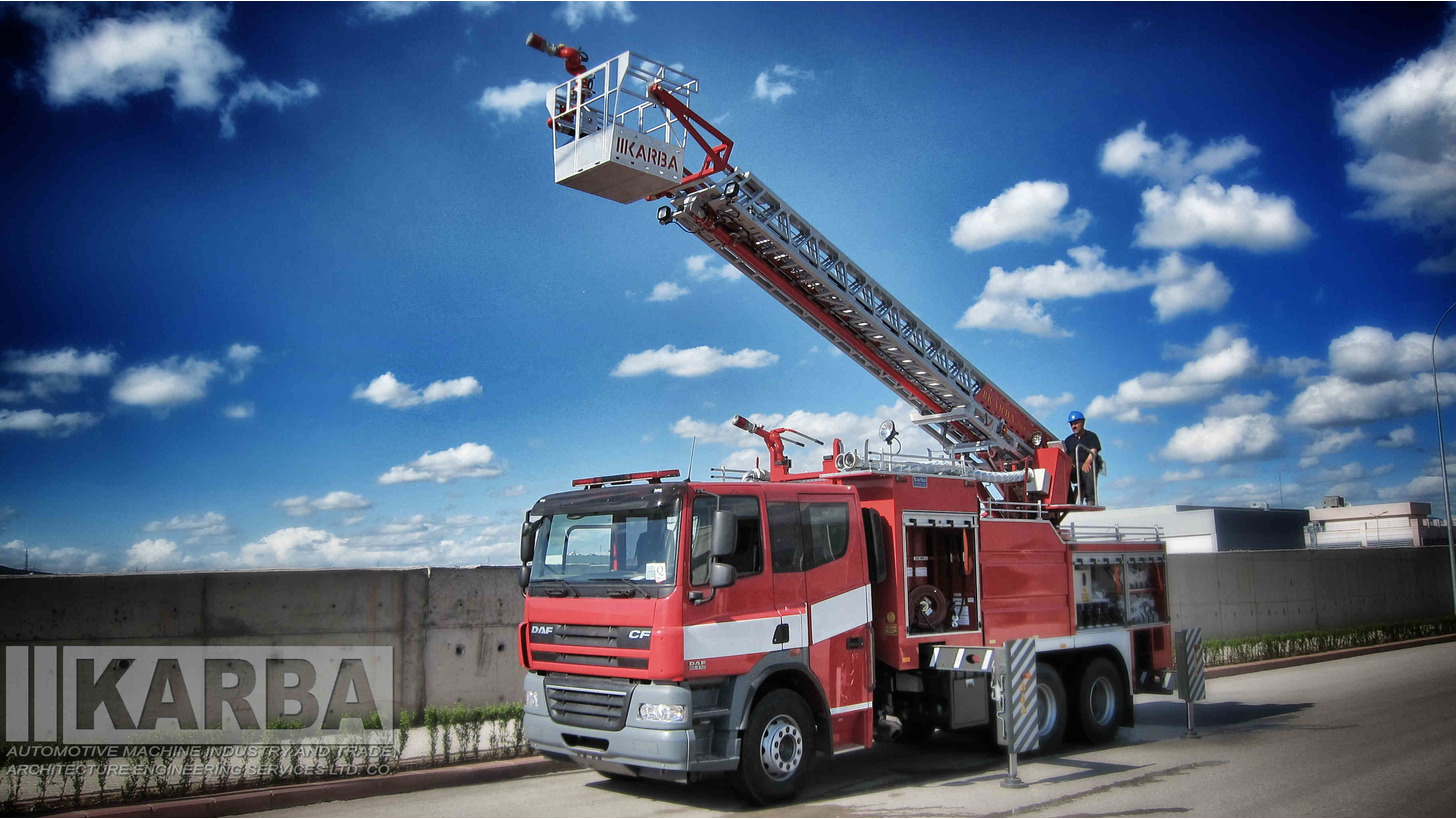 Logo KARBA Aerial Ladder Firefigting Vehicles