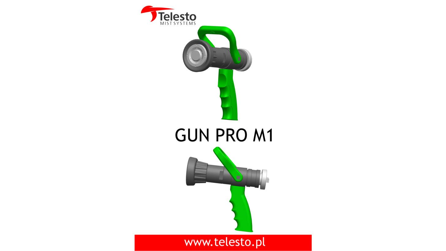 Logo Gun Pro M1 Water Mist Nozzle