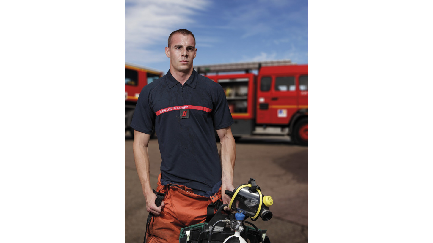 Logo Firefighter fire-proof Polo-shirt