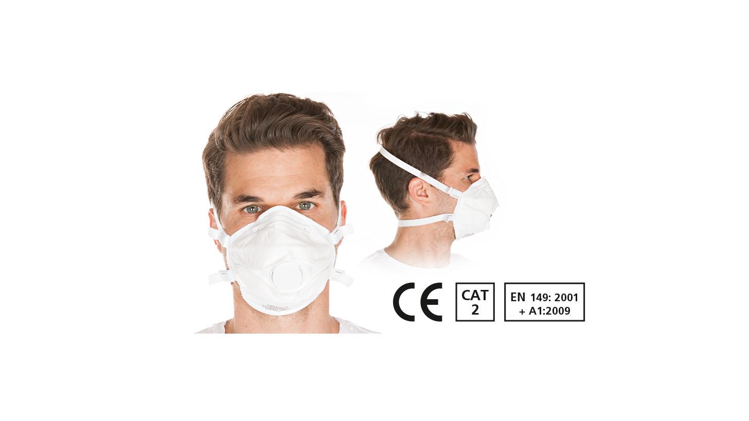 Logo Respirator mask FFP3 NR