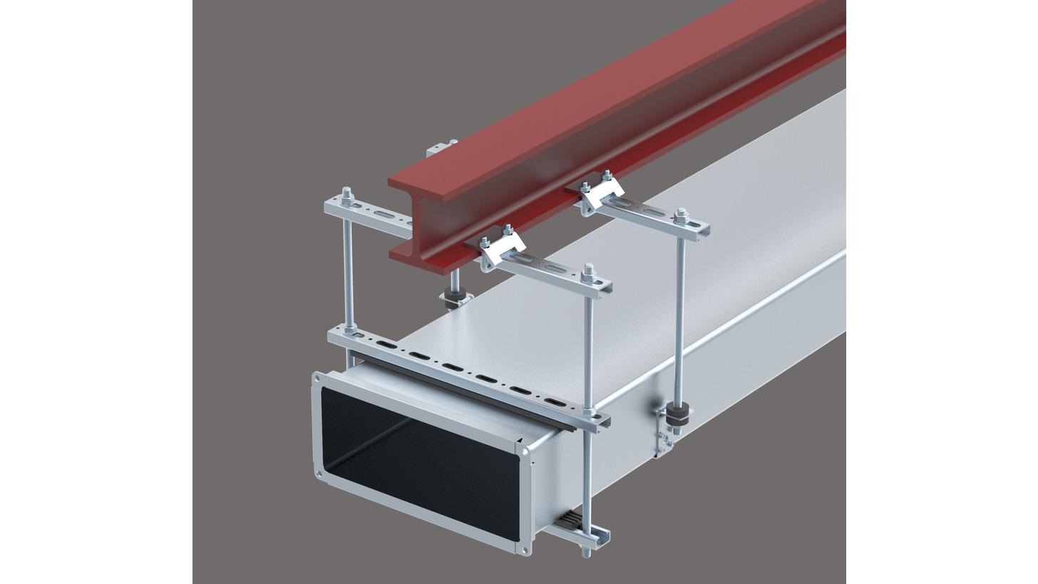 Logo Ventilation Fixing System
