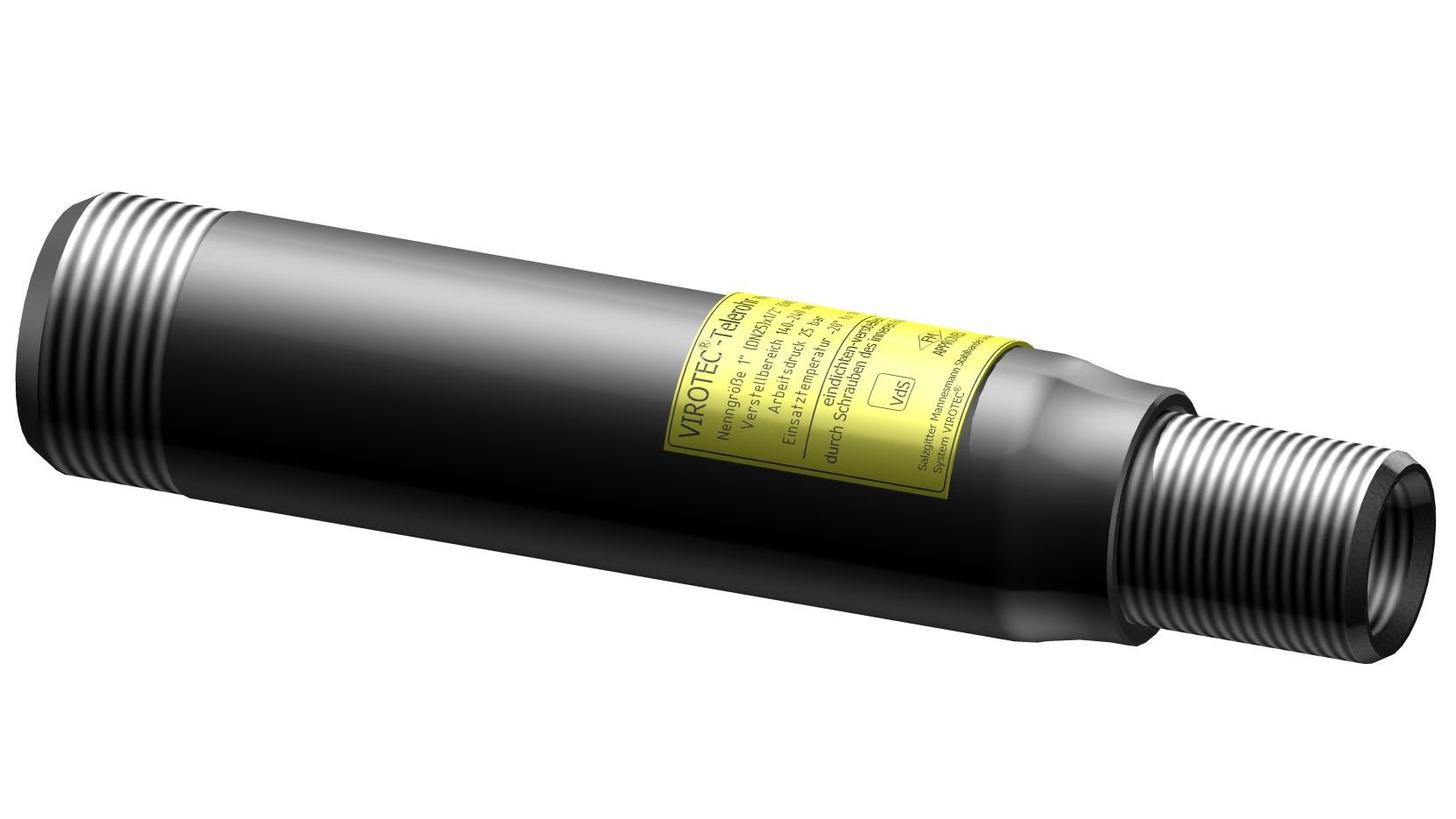 Logo VIROTEC®-telescope pipe VS