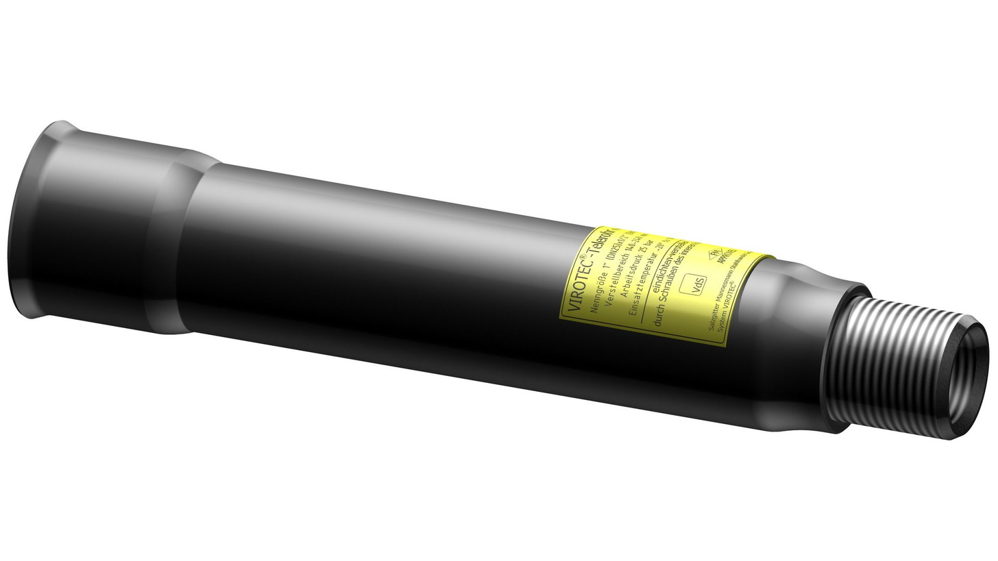 Logo VIROTEC®-telescope pipe VSI