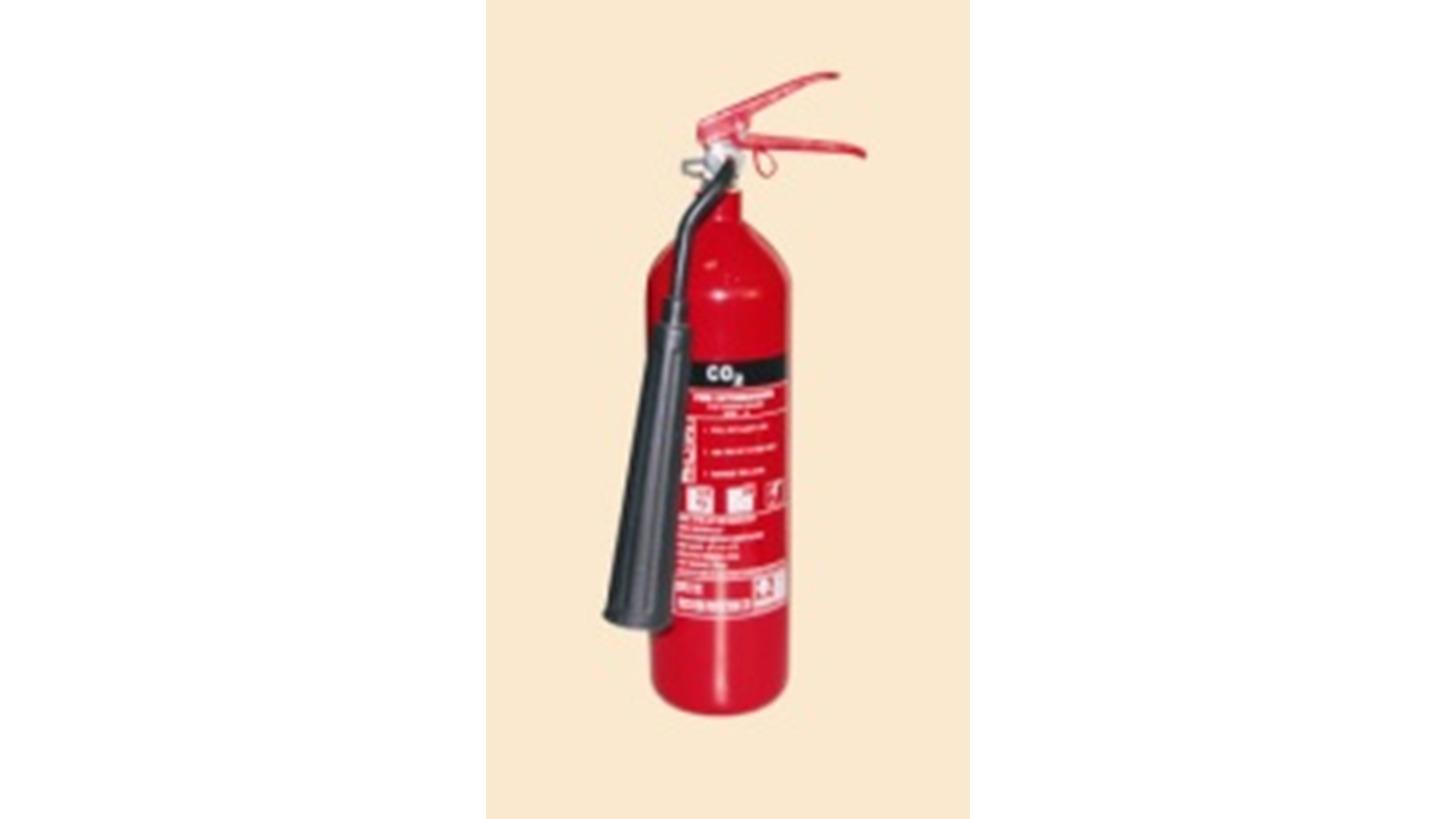 Logo Carbon Steel 2KG CO2 Fire Extinguisher