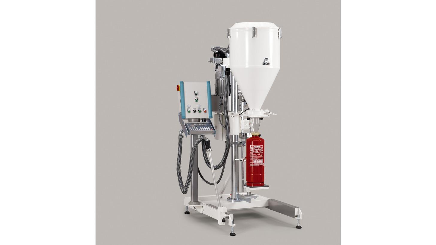 Logo Stationary Powder-Refilling Machine