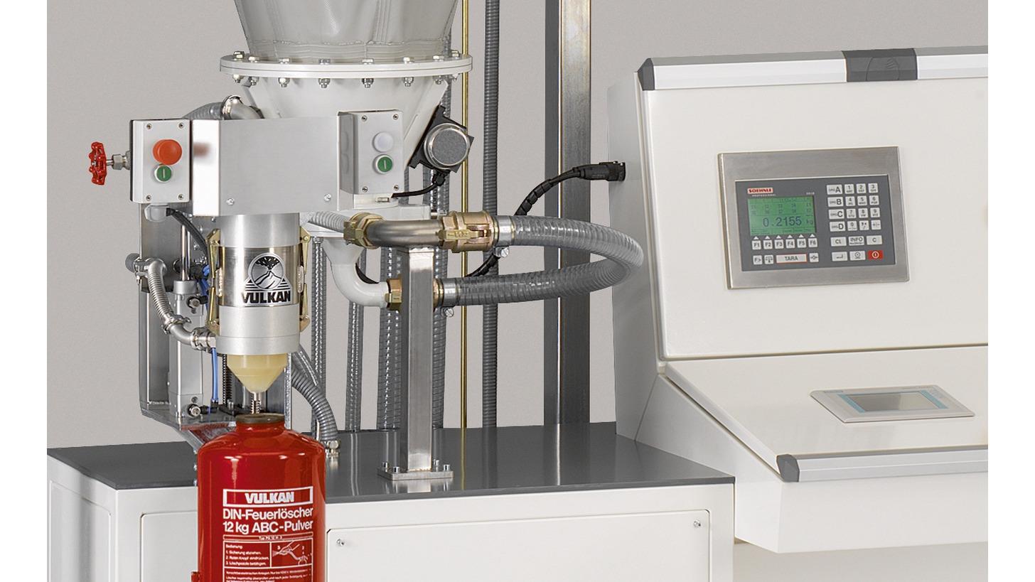 Logo Automatische Pulver-Abfüllmaschine
