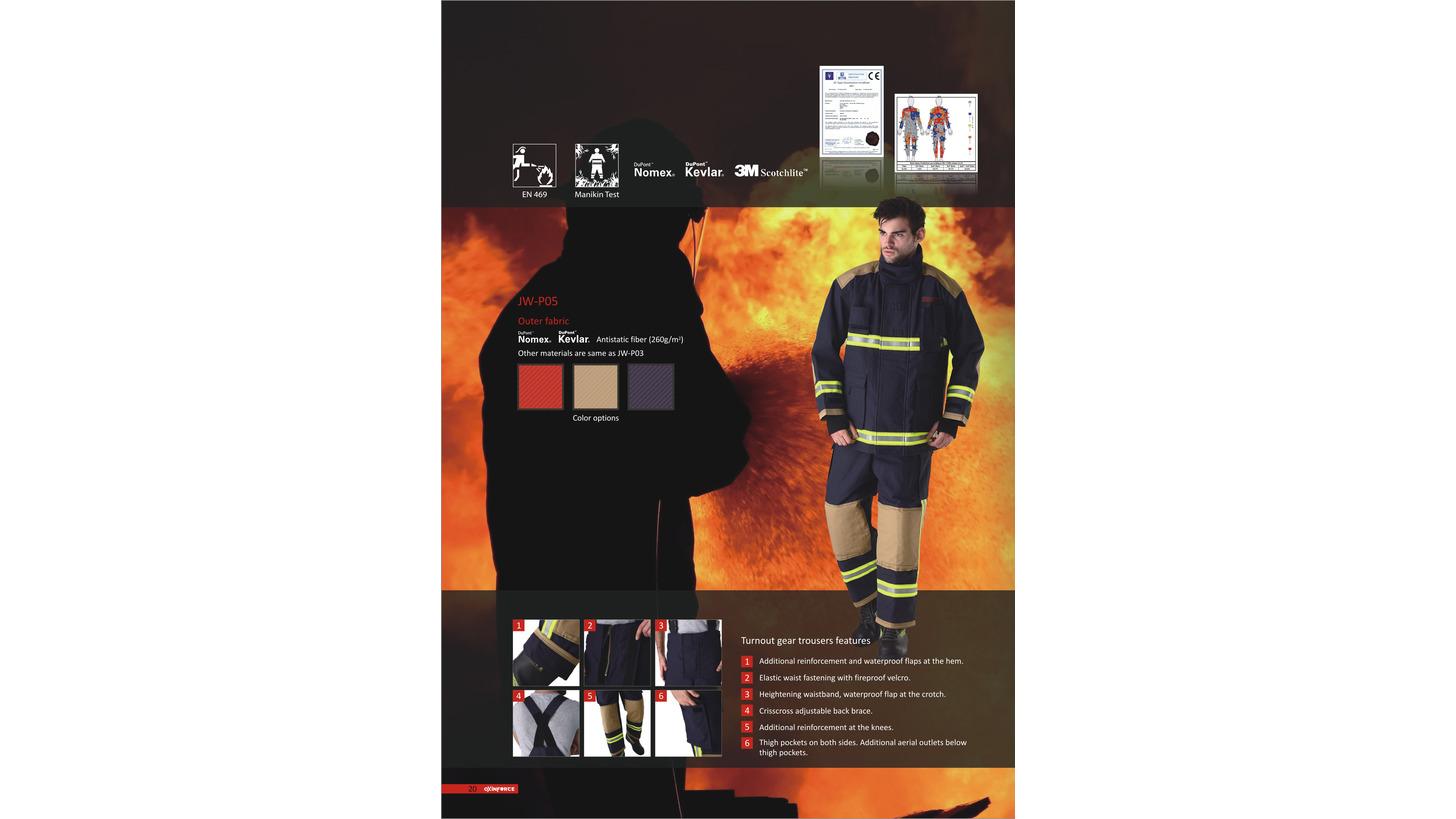 Logo Oxinforce Firesuit- P05