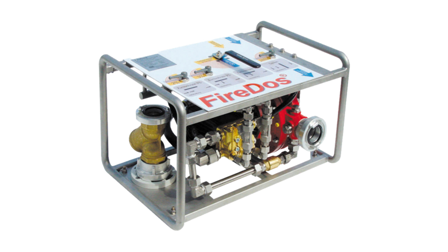 Logo FireDos Foam Proportioning Unit