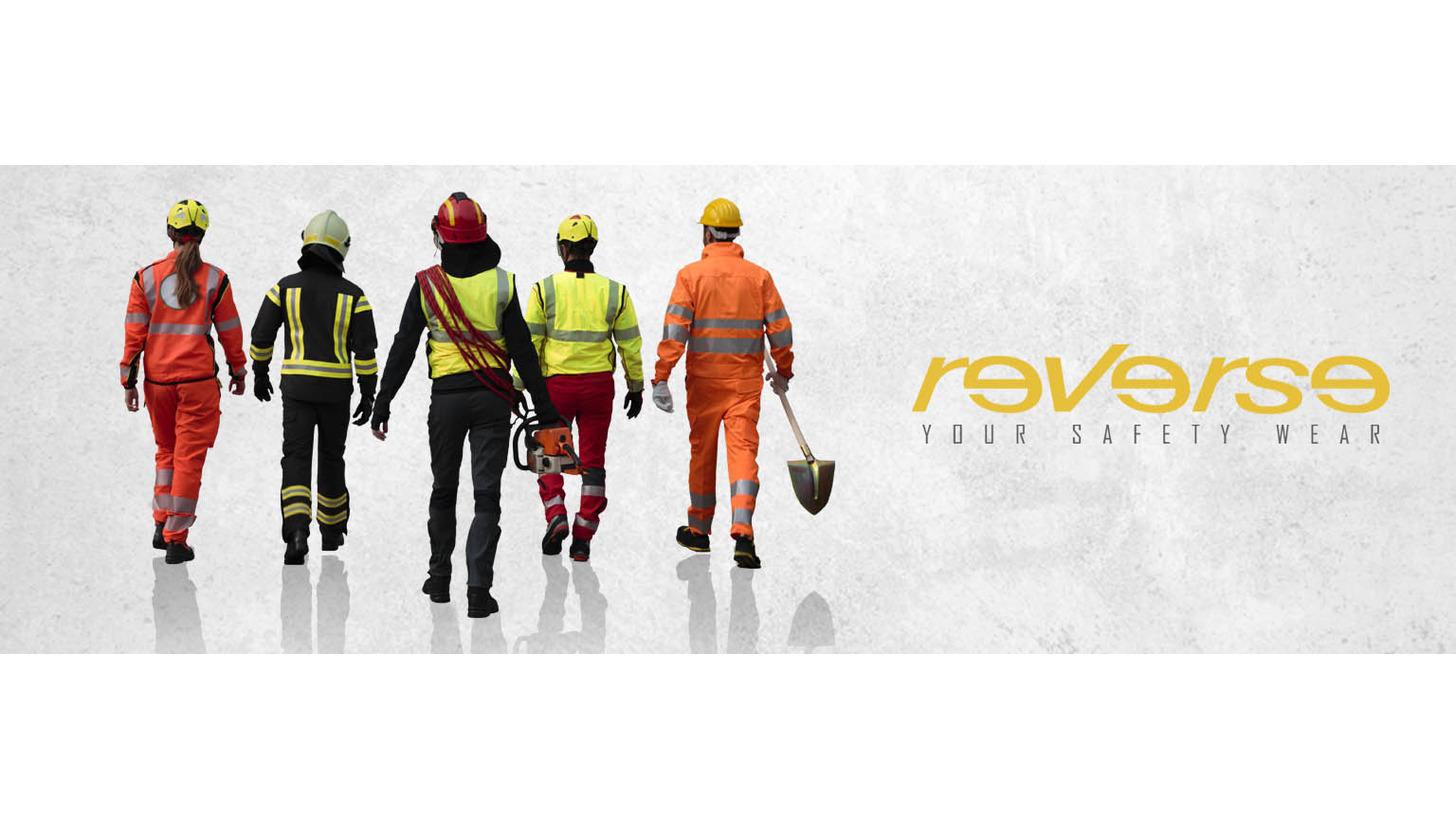 Logo Reverse Sicherheitsbekleidung