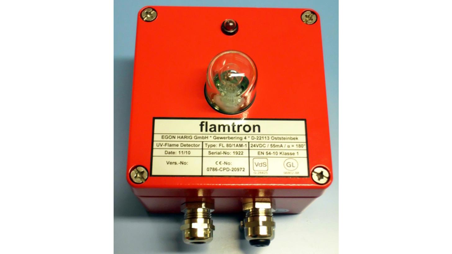Logo UV-Flame Detector FL80/1A