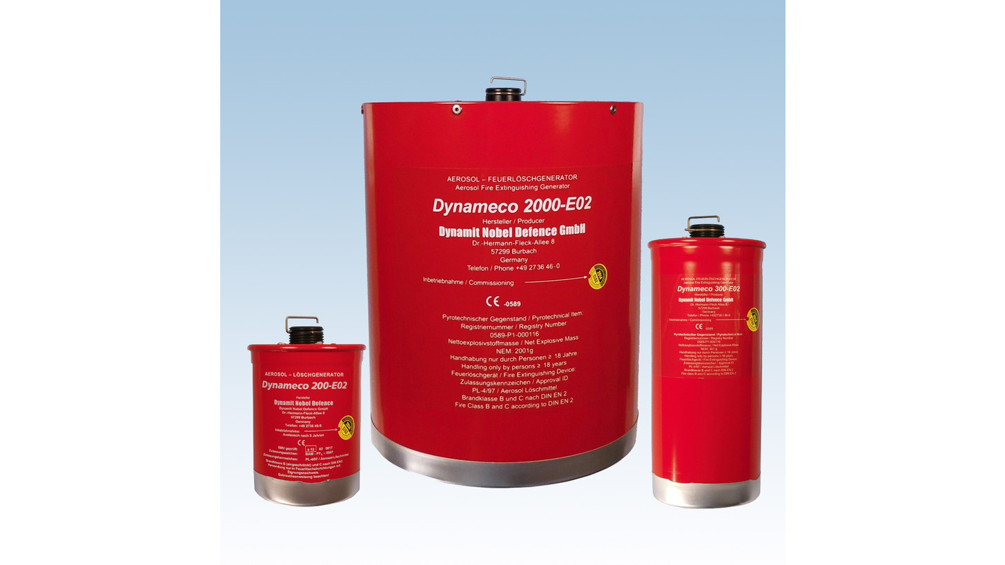 Logo Fire Extinguishing Generators electrical